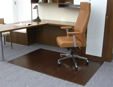 bamboo foldable chair mats are bamboo tri fold office mats
