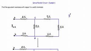 Equivalent Resistance Of Series Parallel Circuit - 1