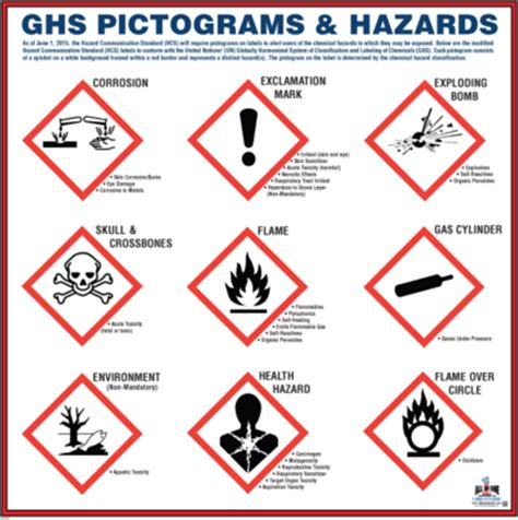 globally harmonized system pictograms car interior design