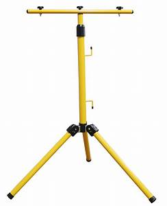 W tripod stand for led flood light camping outdoor