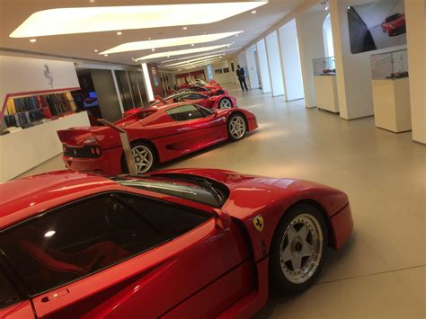 F40, F50, 2x LaFerraris, Enzo, 288 GTO and a couple of 599 ...