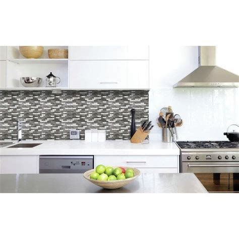 adhesive kitchen wall tiles peel and stick backsplash kitchen bathroom wall 3991