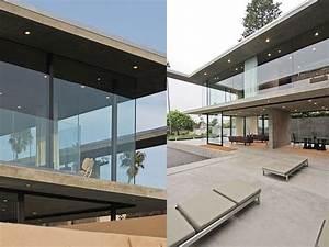 maison contemporaine ecologique en beton coule With maison en beton coule