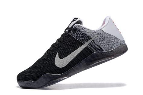 Nike Kobe Bryant Xi Elite Basketball Shoes In Black Gray