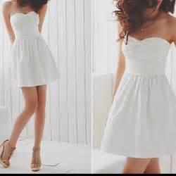 Simple Cute Graduation Dresses