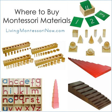list of montessori materials for preschool where to buy montessori materials 412