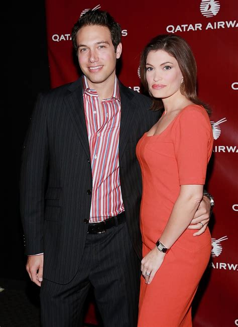 guilfoyle kimberly eric qatar villency hosts airways inaugural zimbio gala celebrate