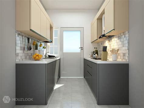 parallel kitchen design 6 x7 premier parallel shape kitchen houzlook 1414