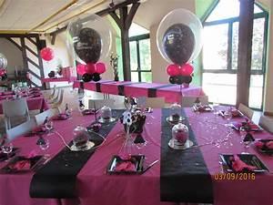 Décoration Anniversaire 25 Ans : deco salle anniversaire 18 ans fille ~ Melissatoandfro.com Idées de Décoration
