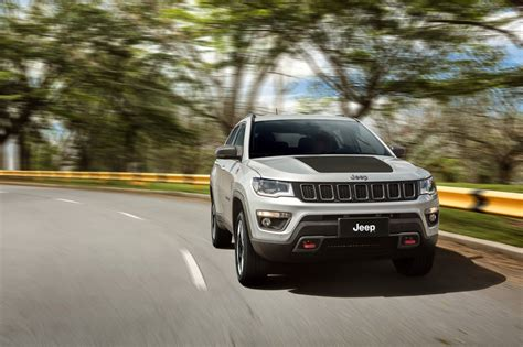 jeep compass all black 2017 2017 jeep compass poses for the camera in all trim levels
