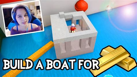 How To Build A Boat Roblox by Build A Boat For Treasure In Roblox