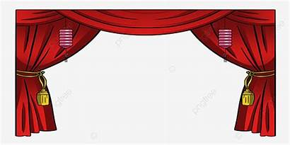 Stage Cinema Clipart Curtains Curtain Theater Theatre