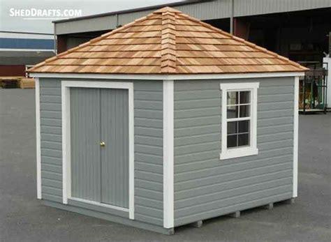 hip roof storage shed plans blueprints  lovely