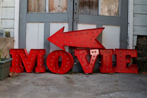 how to make a movie marquee sign celebrations family design