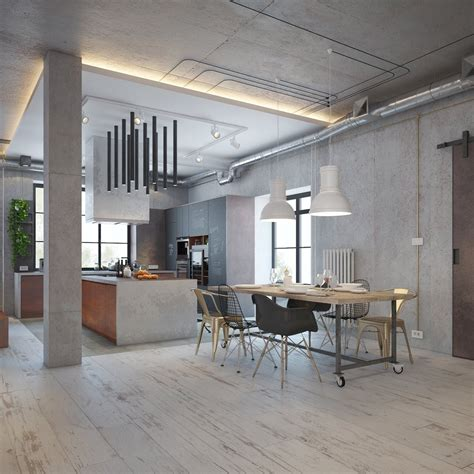 industrial house design  decor  stylish appearance