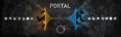 Portal Dual Screen Wallpaper - WallpaperSafari