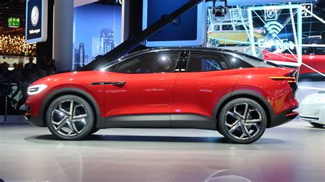 Upcoming Electric Suv by Vw I D Crozz Ii Previews Upcoming Electric Suv Coupe