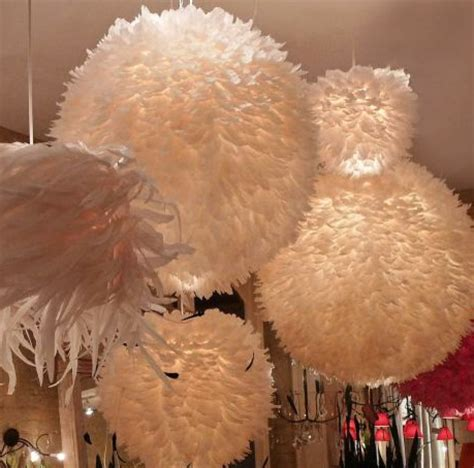 feather ball fixture contemporary chandeliers