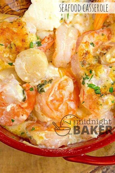 Allrecipes has more than 150 trusted main dish seafood casserole recipes complete with ratings, reviews and baking tips. Seafood Casserole - The Midnight Baker