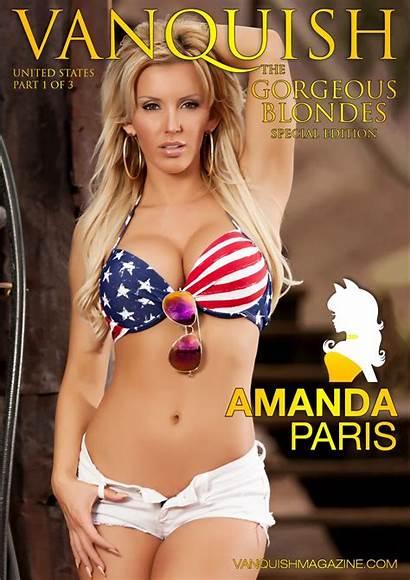 Vanquish Blondes Amanda Paris Magazine Gorgeous Jessica