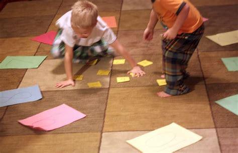 kindergarten math activity simple addition 716 | kindergarten gross motor math activity
