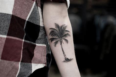 alluring palm tree tattoo designs tattooblend