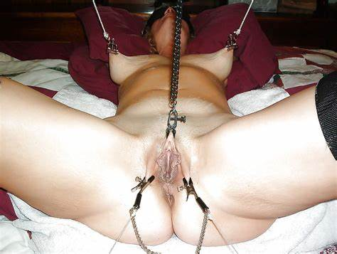 Heavy Flat Boss Tortured With Candle Snatch And Breasted Clamps