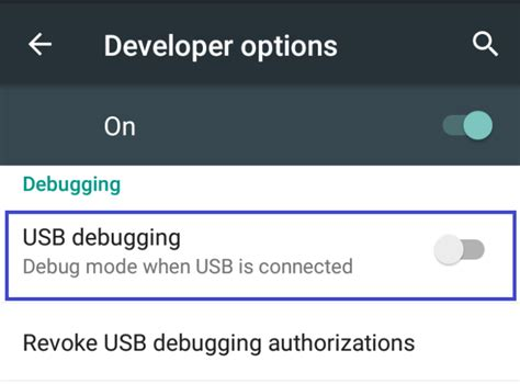 android usb debugging how to enable developer options and usb debugging mode in