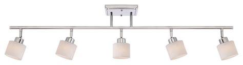 Bathroom Vanity Track Lighting - quoizel pf1405c pacifica 5 light track lighting in
