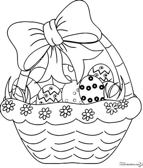 Sélection De Dessins De Coloriage Pâques à Imprimer Sur