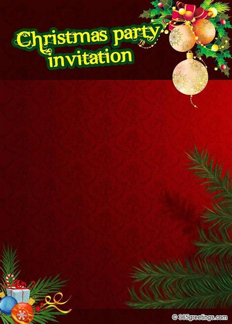 christmas party invitation template top invitations for this easyday