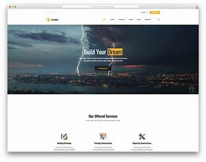 Builder - Free Building Website Template