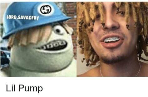 Lil Pump Memes - lord savagery lil pump meme on me me