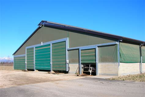 piccoli capannoni prefabbricati capannoni per bovini da latte miglioranza srl sandrigo vi