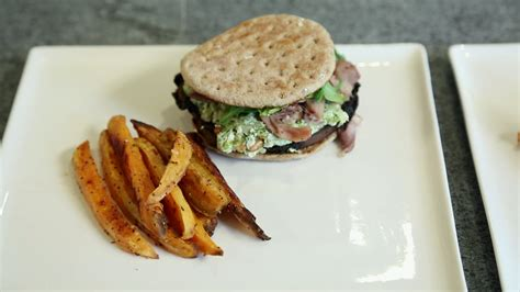 emission cuisine la cuisine par arnaud marchand burger de portobello