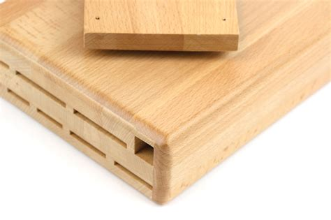 wusthof   cabinet swinger knife block  slot cutlery