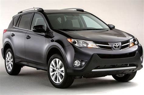The New Toyota Rav4 2013 Does Just Fine With What