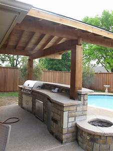 13, Awesome, Tricks, Of, How, To, Make, Backyard, Bar, And, Grill, Ideas