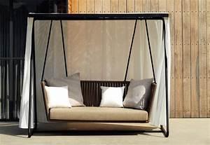 Schaukel Mit Gestell : bitta gestell schaukel 2 sitzer sofa von kettal stylepark ~ Buech-reservation.com Haus und Dekorationen