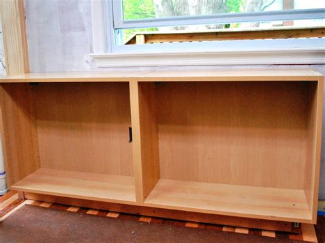 how to build a cabinet box build a simple kitchen desk with hgtv hgtv