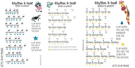 how to teach the difference between the rhythm and the beat 606 | rhythm and beat sheets