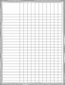 Blank Checklist Template Pdf Editable Checklist Template