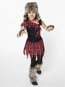 Cards Invitations For Birthdays Werewolf Girl Child Costume Party Delights