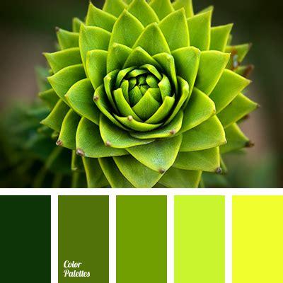 hot light green color palette ideas