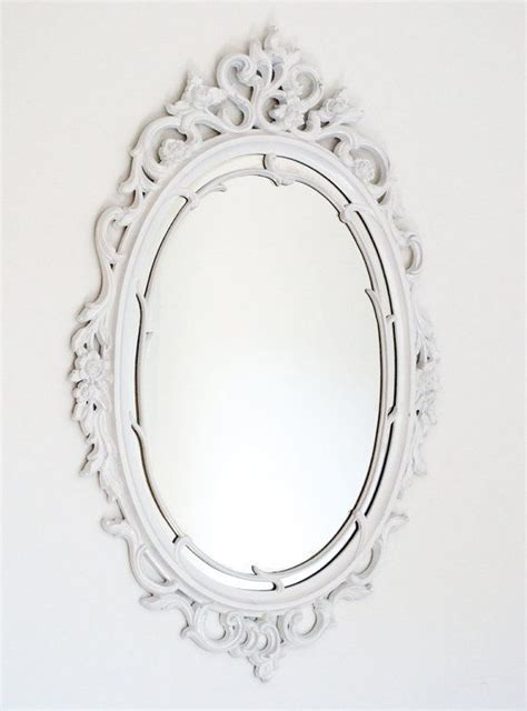 Mirrors Astonishing Oval White Mirror Oval Mirrors, Oval