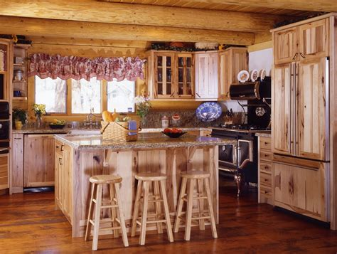 affordable white kitchen cabinets log cabin kitchens with modern and rustic style