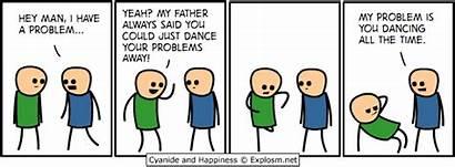 Explosm Comics Happiness Cyanide Problems Rob Comic