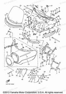 Yamaha Motorcycle 2000 Oem Parts Diagram For Cowling 1
