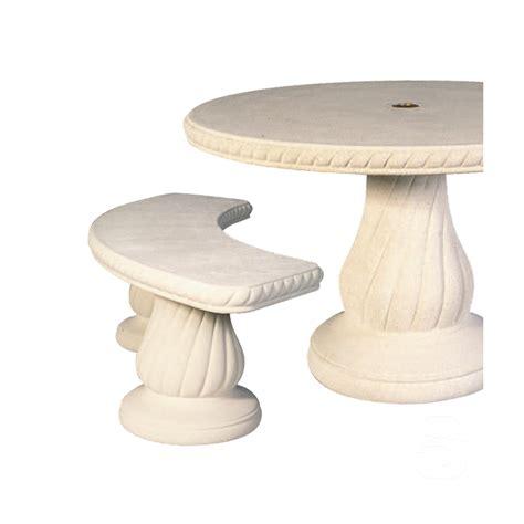 mobilier de jardin en reconstituee salon de jardin en 240 blanc jardinoa fr