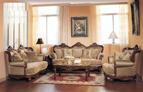 3 Living Room Set 1000 by Formal Luxury Sofa Seat Chair 3 Antique Style